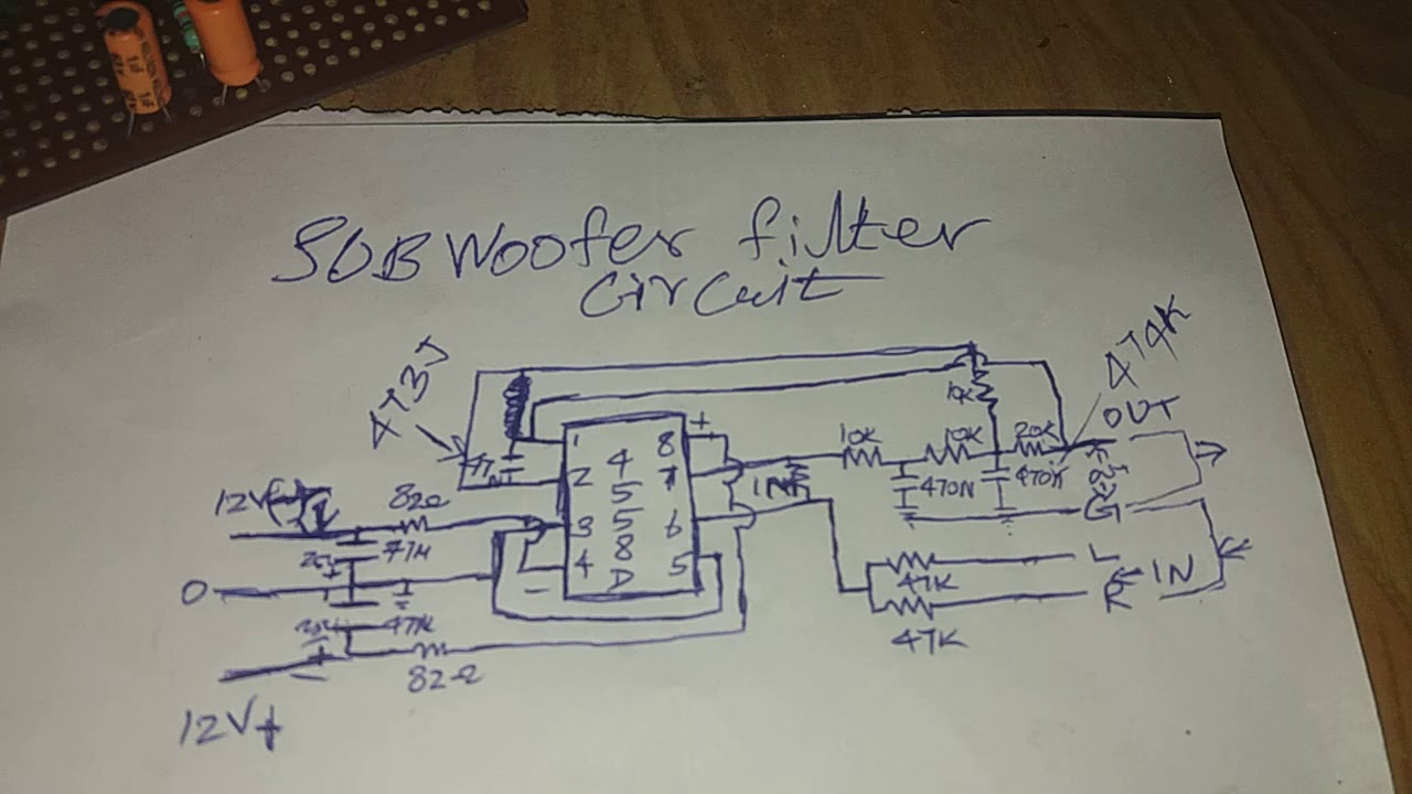 4558d Schematic Diagram Jrc Data Sheet Wire Diagrams Megabass Circuit With Tl072 Ic Subwoofer Pre Test Youtube