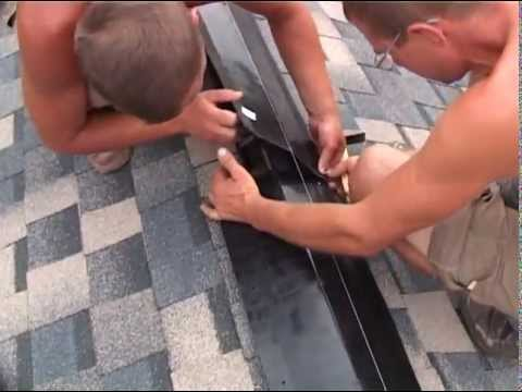 Обучающий фильм по монтажу гибкой черепицы SHINGLAS    ск-прораб.рф