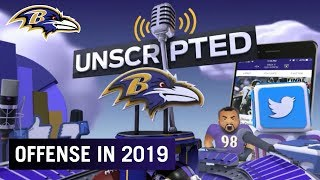 How Will Baltimore's Offense Change in 2019 w/ New OC Greg Roman? | Ravens Unscripted