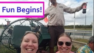 Sea Cruisers 1st Ever GROUP CRUISE - Day 1 Driving to Miami & Florida Everglades! [VLOG ep1]