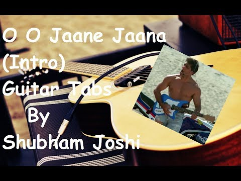 O O Jaane Jaana Guitar Lesson For Beginners Lead Solo Single String ...