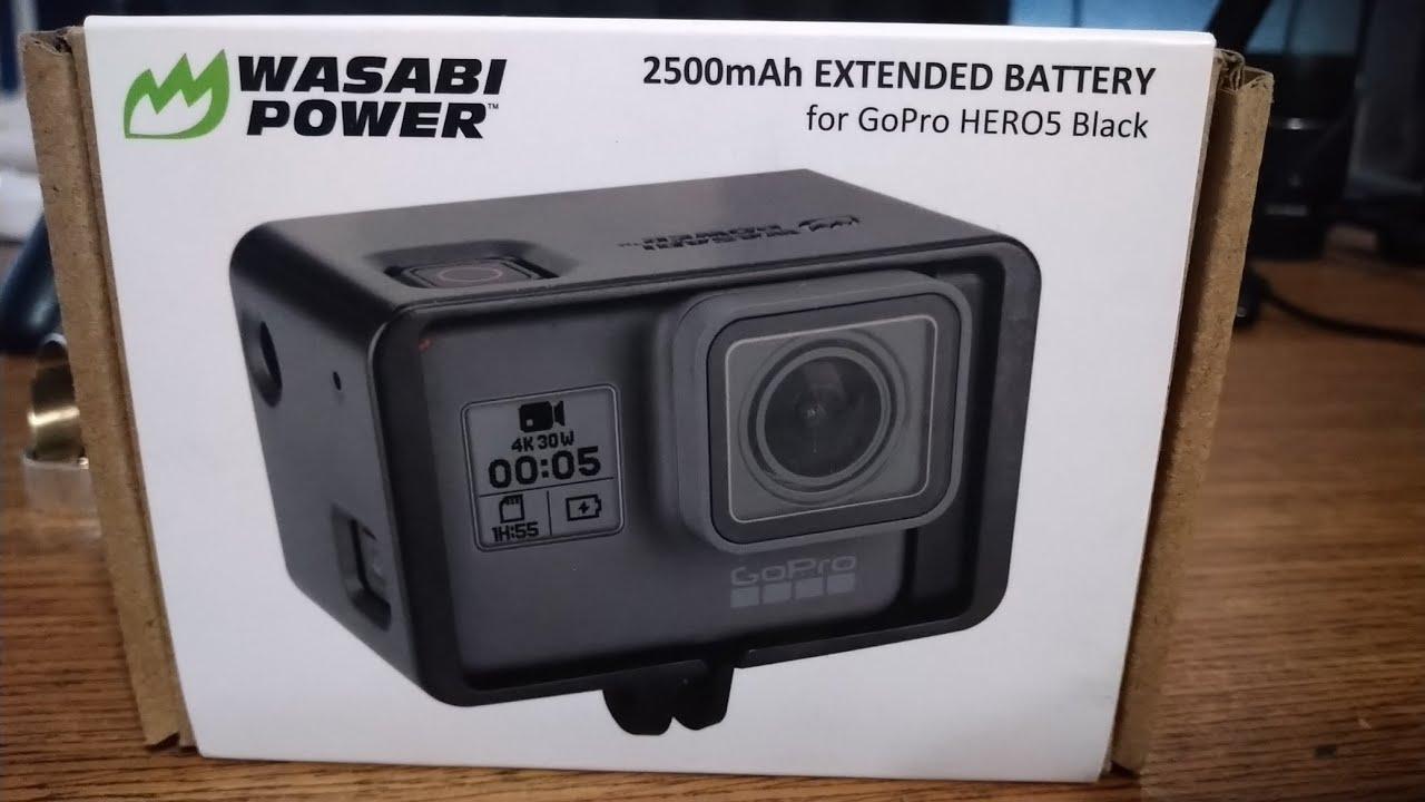 Gopro Hero 7 Black 2500mah Extended Battery Youtube
