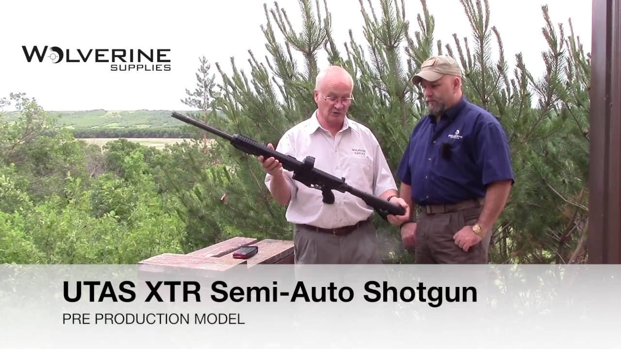 NEW! UTAS XTR Semi-Auto Shotgun