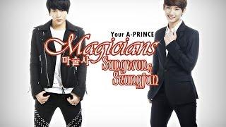 에이프린스 A-PRINCE 마술사 성원-승준 Magicians Sungwon-Seungjun
