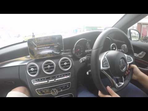 mercedes benz c300 w205 parking assist c class youtube. Black Bedroom Furniture Sets. Home Design Ideas