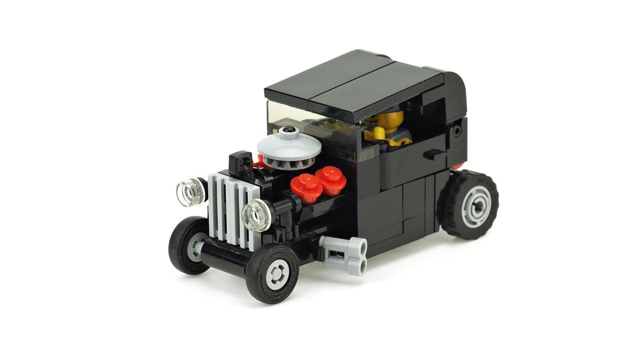 lego hot rod car trailer moc building instructions. Black Bedroom Furniture Sets. Home Design Ideas