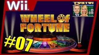 Wheel of Fortune (Wii Edition) Gameplay - Episode #7: Pat Sajak Bankrupts AGAIN!