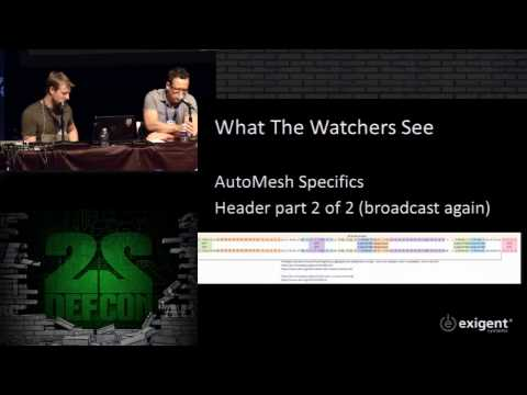 DEF CON 22 - Dustin Hoffman and Thomas (TK) Kinsey - What the Watchers See