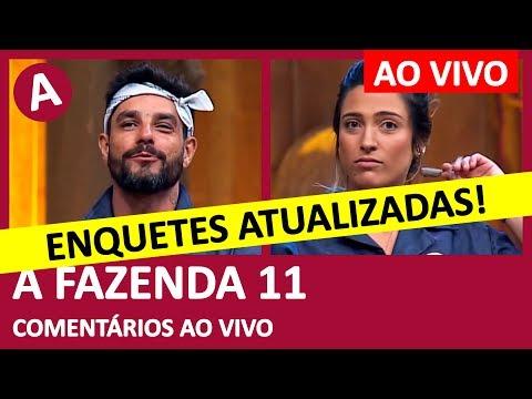 A FAZENDA 11: ENQUETES ATUALIZADAS! Diego Grossi ou Tati Dias? Quem fica? - COMENTÁRIOS AO VIVO thumbnail