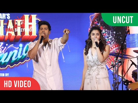 UNCUT - Varun Dhawan And Alia Bhatt Visit The Asiatic Library Steps | Kala Ghoda Arts Festival 2017