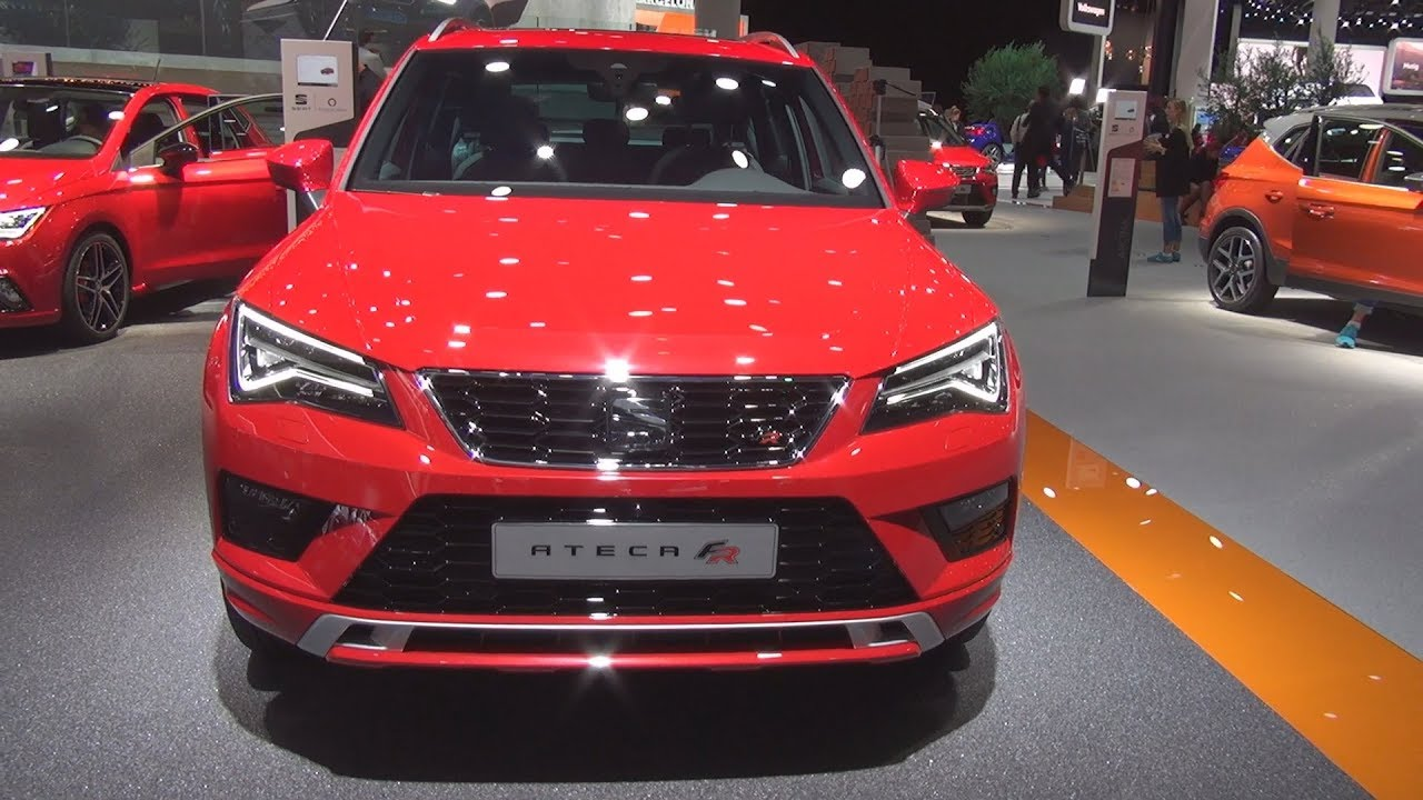 seat ateca fr 2 0 tsi 190 hp 2018 exterior and interior youtube. Black Bedroom Furniture Sets. Home Design Ideas