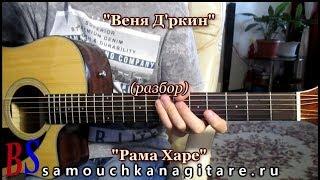 Веня Д'ркин (Александр Литвинов) - Рама Харе (кавер) ВИДЕО РАЗБОР песни,  Аккорды