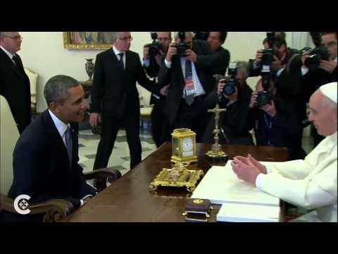 Pope, with Obama, backs U.S. bishops