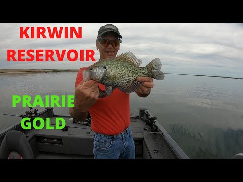 Kirwin Reservoir Walleye And Crappie Bite Kansas Fishing