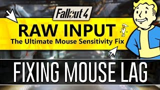 How to Disable Mouse Acceleration in Fallout 4 - RAW INPUT! 2018