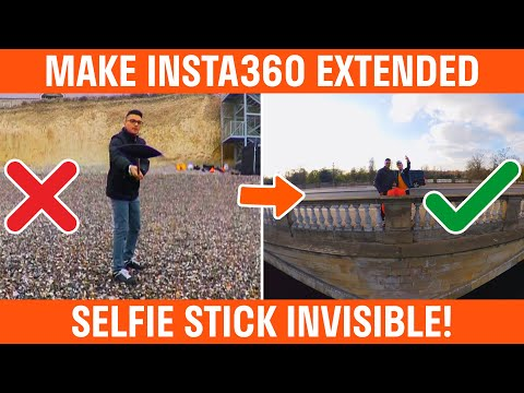How To Make The Insta360 Extended Selfie Stick Invisible