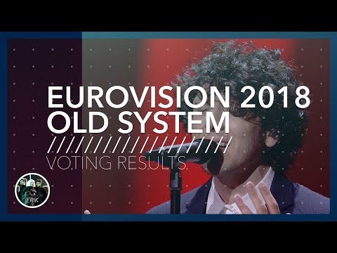 Eurovision 2018 ● Old Voting System (Part 1/3)