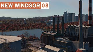 Realistic Oil Power Plant! - Cities Skylines: New Windsor #08