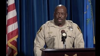 Media Briefing:  OIS #10 for 2018 -- Murder Suspects Fire at Officers During Pursuit