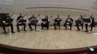 M. Ravel - Bolero played by Silesian Guitar Octet