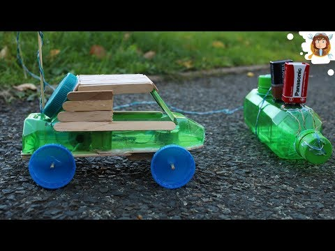 How to Make a Car - Remote Controlled - (Very Simple)
