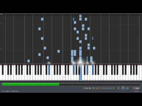 Macgyver's Theme - Synthesia Piano Tutorial - (Ken Pianoman)
