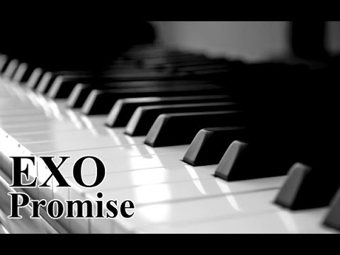 EXO Promise piano & Music sheet 엑소 피아노 커버
