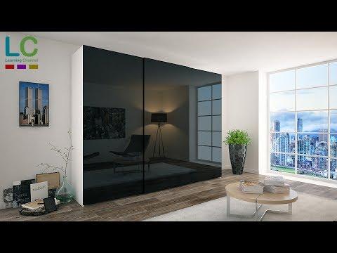 3ds Max Modeling Wardrobe + Vray + Photoshop
