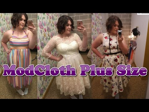 MODCLOTH Plus Size Try On IN STORE!!!