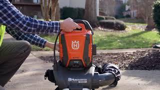 Husqvarna 550iBTX Backpack Battery Blower