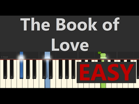 The Book of Love EASY Piano Tutorial (Gavin James) - Piano Tutorial by SPW