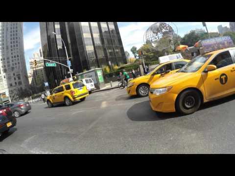 CitiBike Ride through Midtown Manhattan!