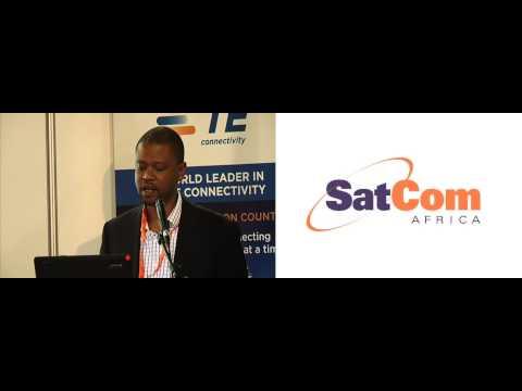 Tshego Ditshego Panel at SatCom Africa 2013
