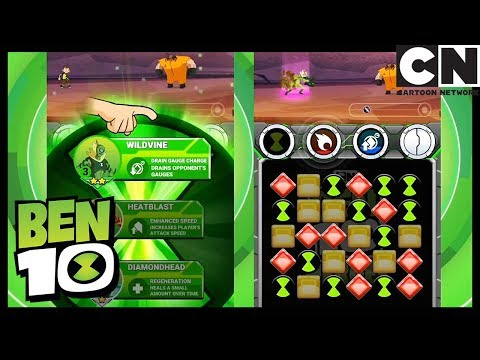 Ben 10 Heroes Gameplay and Playthrough | Ben 10 Games | Cartoon Network