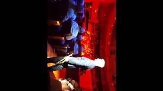 Chris Botti at the Palladium..in the audience.