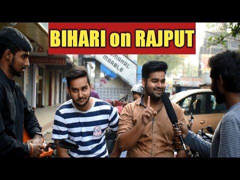 Bihari on Rajput || Public Reaction || PRB