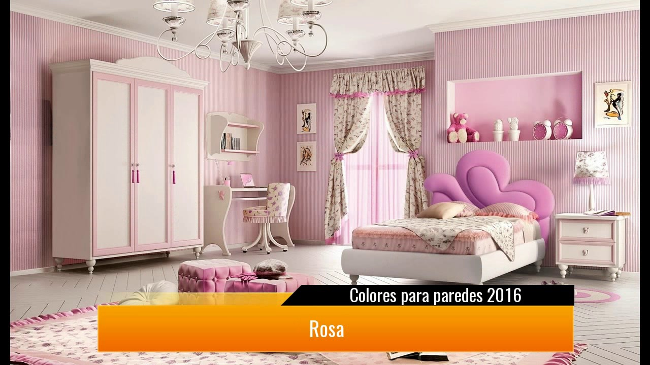 Colores para paredes 2017 youtube for Colores pintura pared 2016