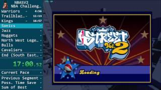 (Former World Record) NBA Street Vol. 2 Speedrun in 2:34:28 - NBA  Challenge 100%