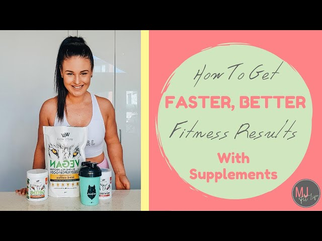 Should You Take Supplements To Get Better, Faster Fitness Results?