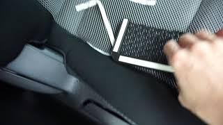 bad product: Net storage bag pocket car organizer from aliexpress