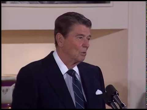 President Reagan's Remarks at White House Historical Association Reception on October 16, 1986