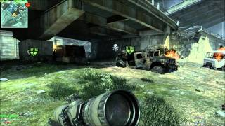 Call of Duty: Modern Warfare 3 - PC L118A Sniper gameplay - domination 200-25