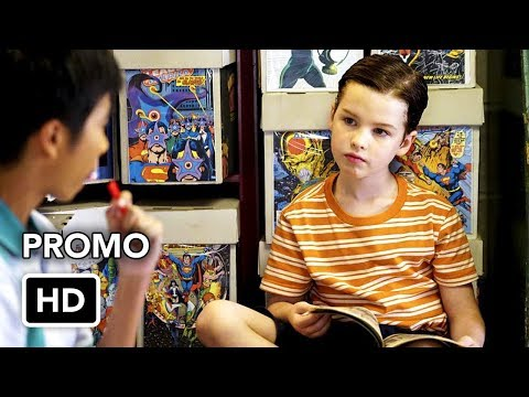 """Young Sheldon 1x04 Promo """"A Therapist, A Comic Book, and A Breakfast Sausage"""" (HD)"""