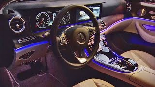2017 E-Class - Wide-Screen Cockpit Demonstration