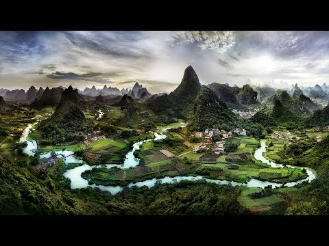 4K-View: Trey Ratcliff - Nature-Scapes/UHD SlideShow - Gentle Worship (Instrumental)