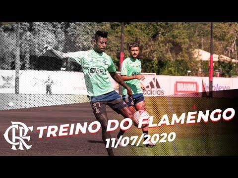 Treino do Flamengo - 11/07/2020
