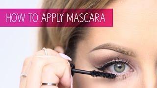 How to Apply Mascara: Makeup Tips