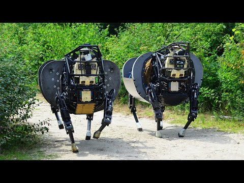US Testing creepy $40 millions Robots to Replace Horse : Legged Squad Support System