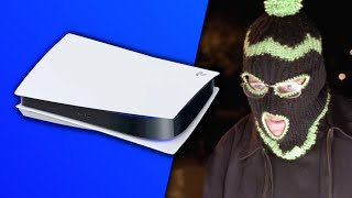 Walter White steals a PS5