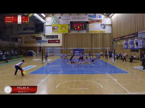 Klaudia Felak OUTSIDE HITTER Polish League (A2) 2017-2018 nr 3